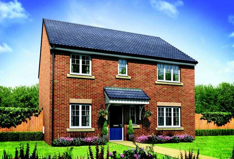 4 Bedrooms Detached House for sale in Plot 78 The Marlborough, Middlewich Road, Crewe, CW4