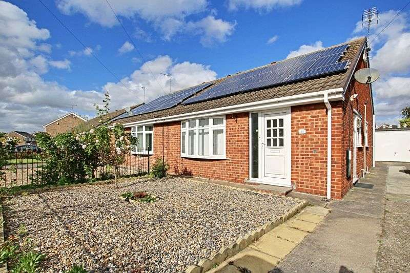 2 Bedrooms Semi Detached Bungalow for sale in Broad Oak, Bilton