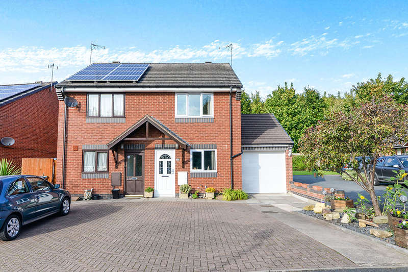 2 Bedrooms Semi Detached House for sale in Bays Meadow, Droitwich, WR9