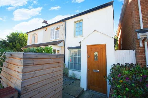 2 Bedrooms End Of Terrace House for sale in Cross Street, Hampton Hill