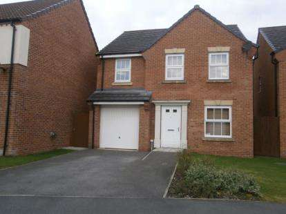 4 Bedrooms Detached House for sale in Parish Gardens, Leyland, Lancashire, PR25