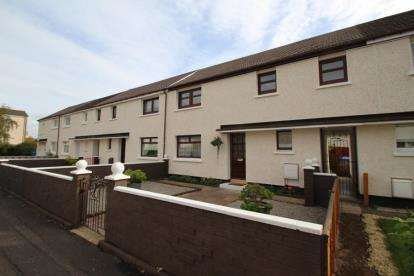 3 Bedrooms Terraced House for sale in Arran Place, Irvine, North Ayrshire