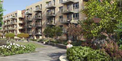 2 Bedrooms Flat for sale in Smithfield Square, Hornsey Lane, London