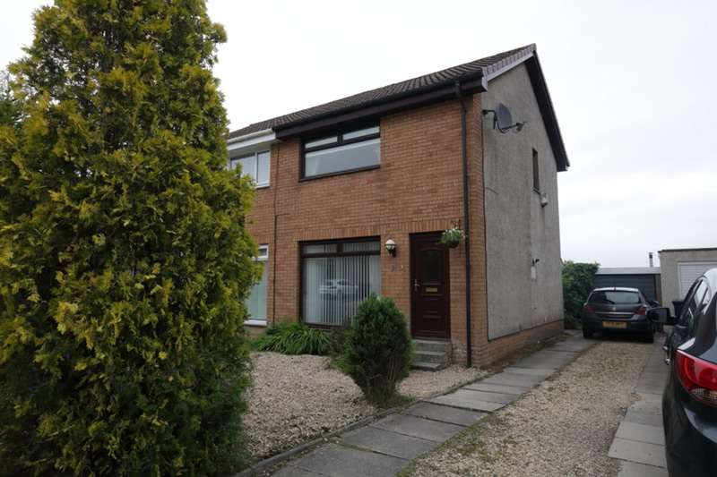 2 Bedrooms Semi Detached House for sale in Macdairmid drive, Hamilton, Lanarkshire, ML3