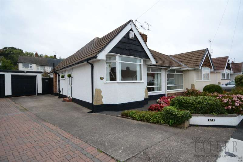 2 Bedrooms Semi Detached Bungalow for sale in Heywood Boulevard, Thingwall, Wirral