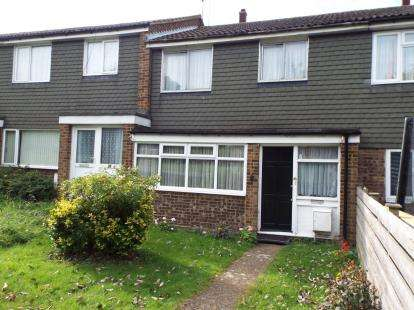 3 Bedrooms Terraced House for sale in Julius Gardens, Luton, Bedfordshire
