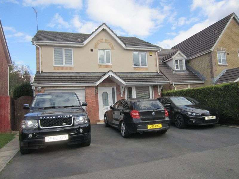 4 Bedrooms Detached House for sale in Clos Eiddiw Park View Grove Cardiff CF5 5NT