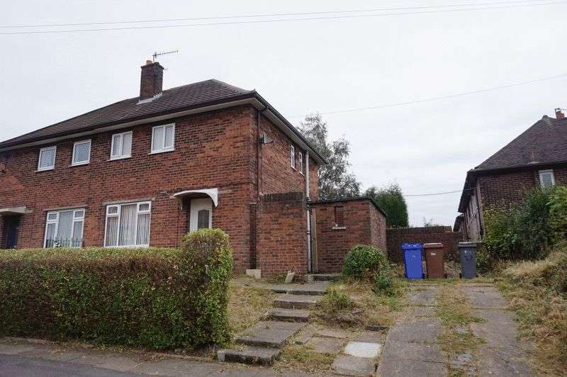 3 Bedrooms Semi Detached House for sale in Linda Road, Tunstall, Stoke-On-Trent, ST6 5NB