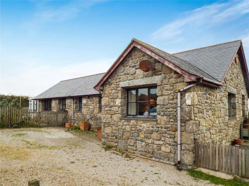 3 Bedrooms Detached Bungalow for sale in Higher Trenowin, Nancledra, Cornwall