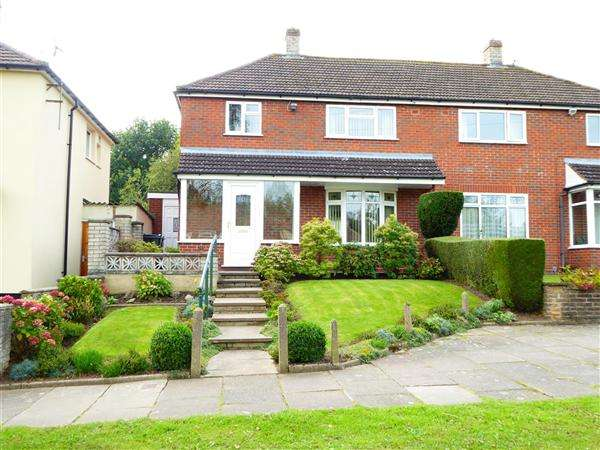 3 Bedrooms Semi Detached House for sale in Tigley Avenue, Bartley Green, Birmingham