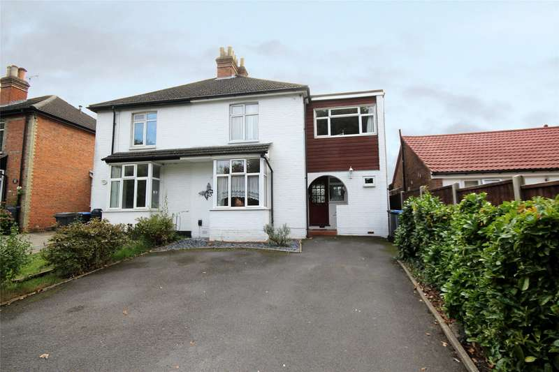 4 Bedrooms Semi Detached House for sale in Spinney Hill, Addlestone, Surrey, KT15