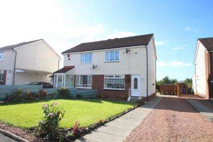 2 Bedrooms Semi Detached House for sale in Invergarry Drive, Deaconsbank, Glasgow