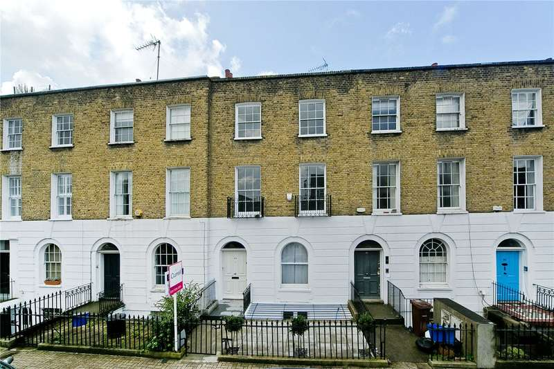 4 Bedrooms Terraced House for sale in Shepherdess Walk, Islington, N1