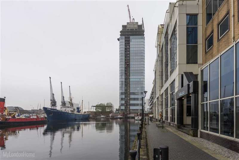 Property for sale in Dollar Bay, Canary Wharf, London, E14