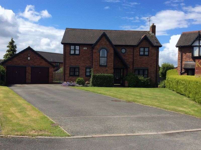 4 Bedrooms Detached House for sale in 6 Avalon Court, Wrexham