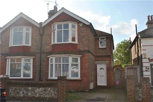 4 Bedrooms Semi Detached House for sale in Ringwood Road, EASTBOURNE, East Sussex, BN22 8TA