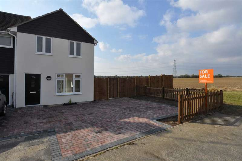 2 Bedrooms End Of Terrace House for sale in Lodge Crescent, Chelmsford
