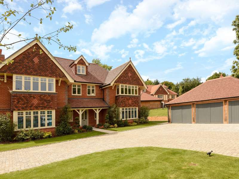 5 Bedrooms Detached House for sale in Kit Lane, Checkendon, RG8