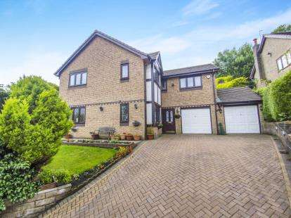 5 Bedrooms Detached House for sale in Thanet Lee Close, Cliviger, Burnley, Lancashire, BB10