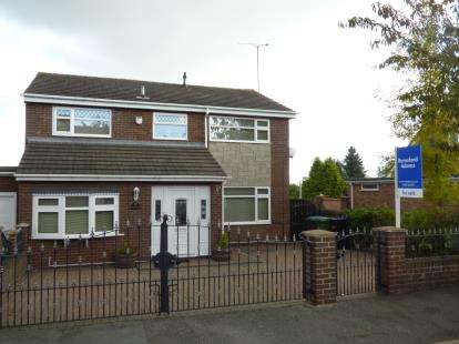 5 Bedrooms Link Detached House for sale in Brynhyfryd, Johnstown, Wrexham, Wrecsam, LL14