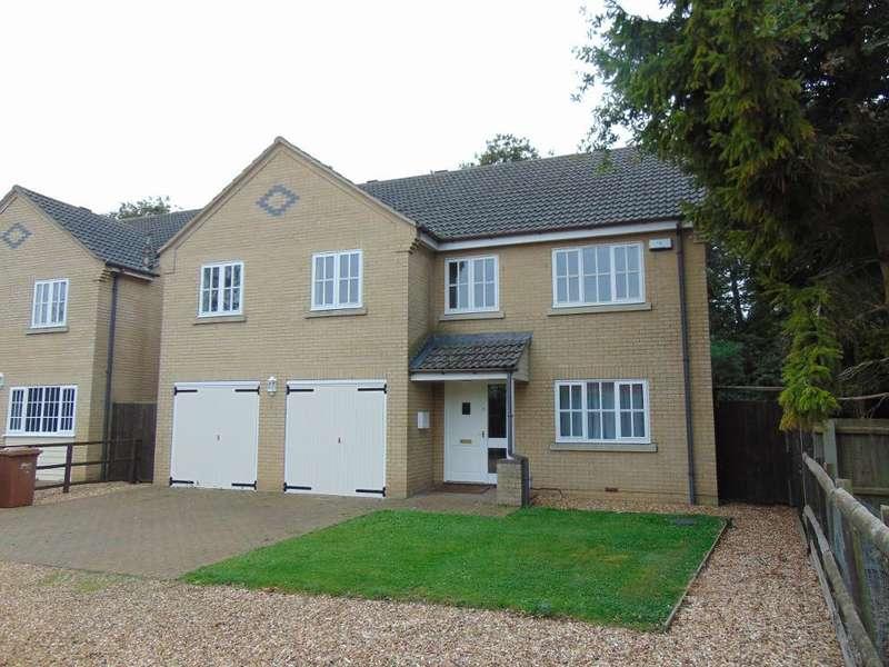 5 Bedrooms Detached House for sale in Acorn Lane, Manea, Cambs, PE15 0JP