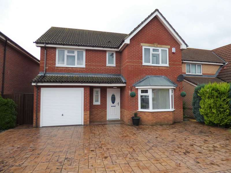 4 Bedrooms Detached House for sale in Carlton Close, Guisborough