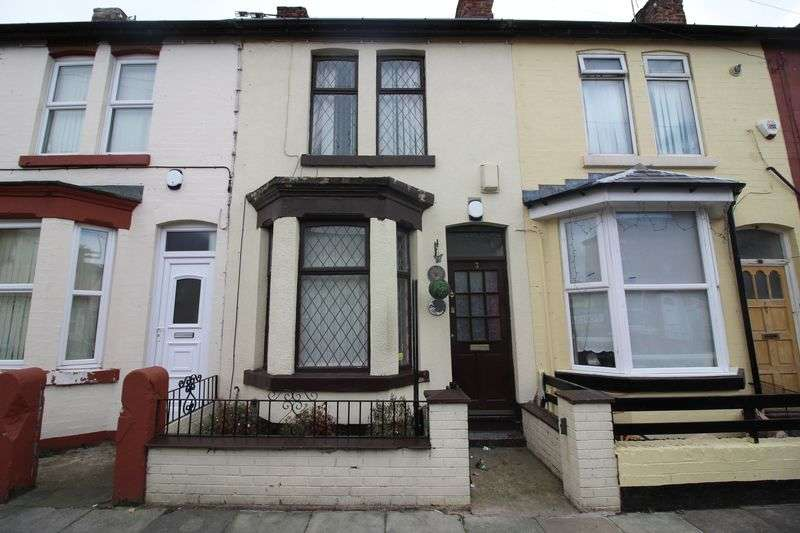 3 Bedrooms Terraced House for sale in Beechwood Road, Liverpool