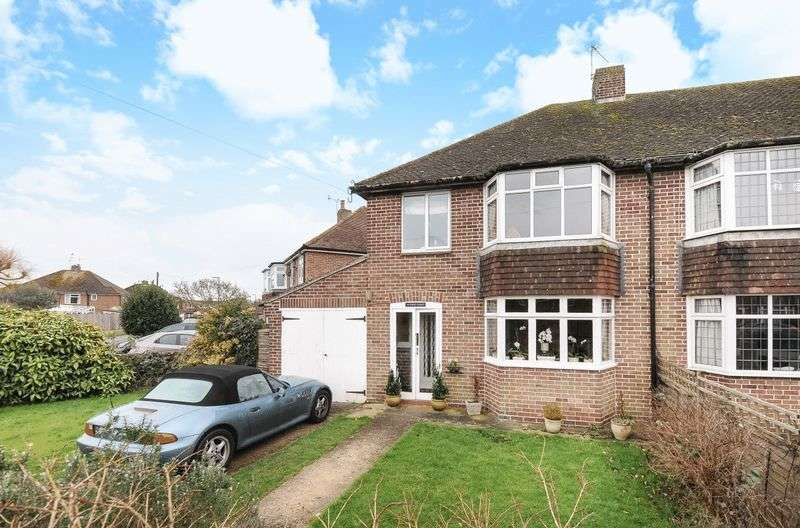 3 Bedrooms Semi Detached House for sale in Park Road, Yapton, Arundel, BN18