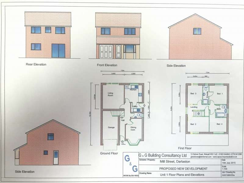 Property for sale in Mill Street, Wednesbury