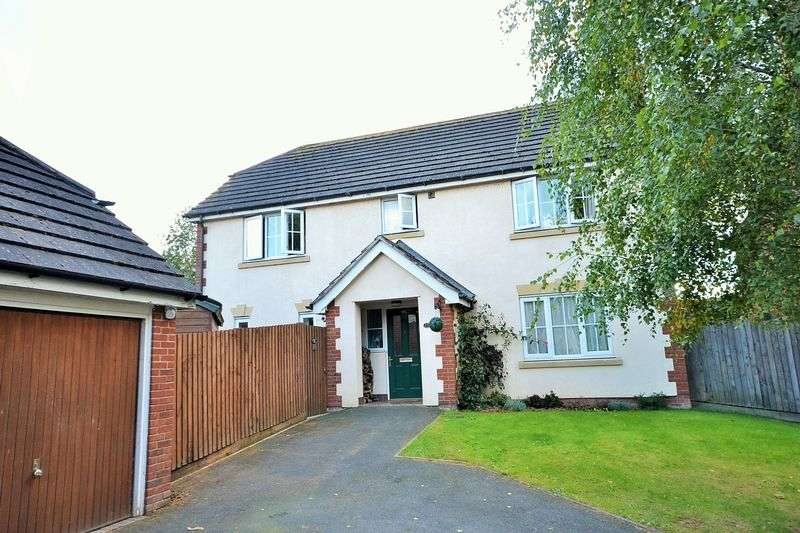 4 Bedrooms Detached House for sale in The Oaklands, Tenbury Wells