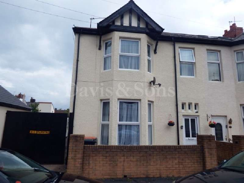 4 Bedrooms End Of Terrace House for sale in Bedford Road, Off Corporation Road , Newport. NP19 0BW