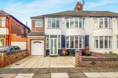 4 Bedrooms Semi Detached House for sale in Caithness Road, Liverpool, Merseyside, L18