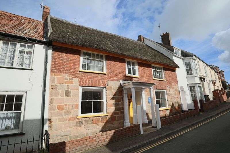 4 Bedrooms Terraced House for sale in Primrose Cottage, North Street, Exmouth
