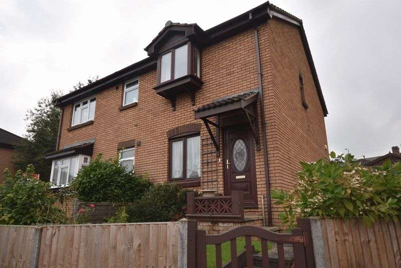 2 Bedrooms Semi Detached House for sale in Manor Farm Road, Crigglestone