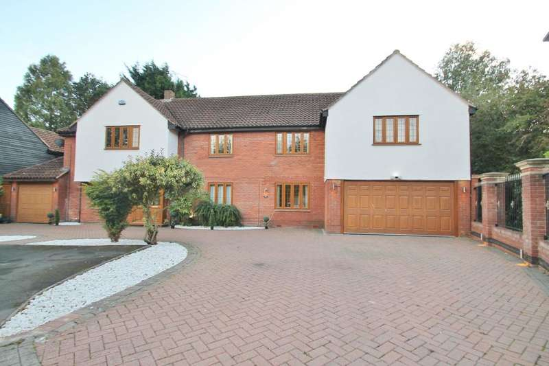 5 Bedrooms Detached House for sale in MAYBUSH ROAD, EMERSON PARK, HORNCHURCH