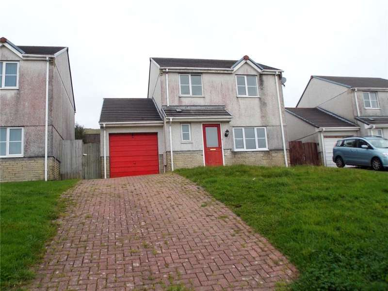 3 Bedrooms Detached House for sale in Hillside Meadows, Foxhole, St Austell