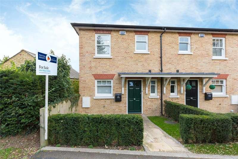 2 Bedrooms Semi Detached House for sale in Roundbush Lane, Round Bush, Aldenham, Watford, WD25