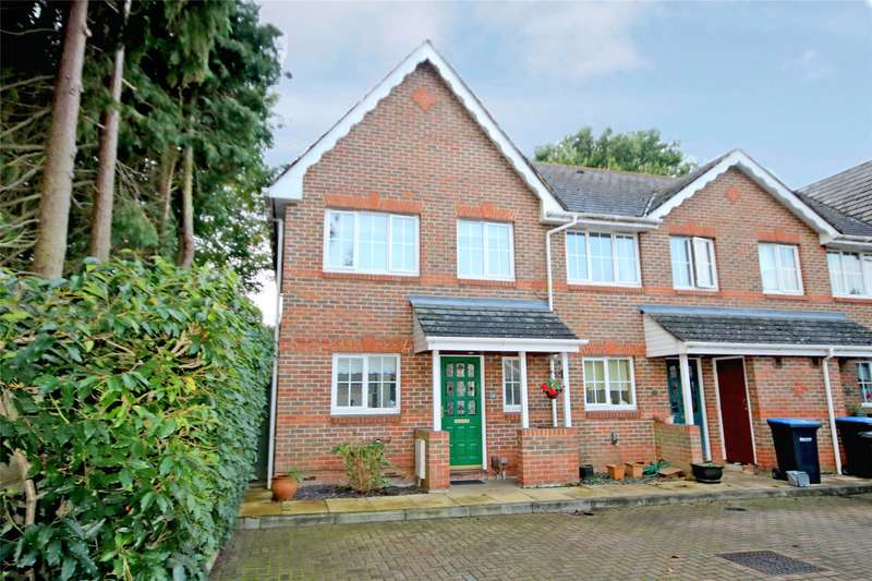 3 Bedrooms End Of Terrace House for sale in Gleeson Mews, Addlestone, Surrey, KT15