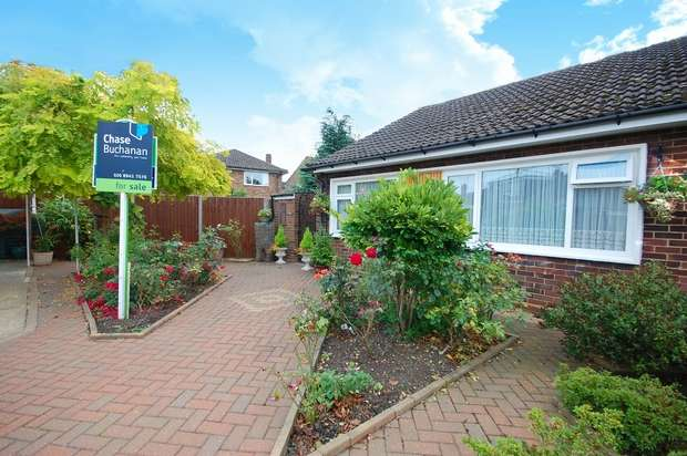 2 Bedrooms Semi Detached Bungalow for sale in Bluefield Close, Hampton