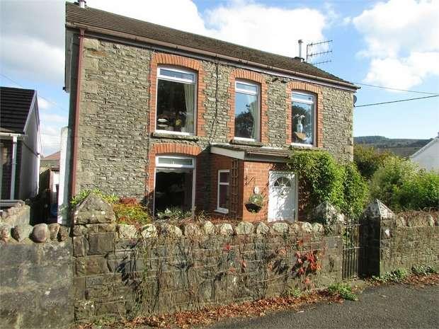 3 Bedrooms Detached House for sale in 40 Cwmdu Road, Cilmaengwyn, Pontardawe, Swansea, West Glamorgan