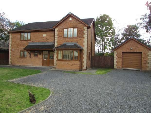 4 Bedrooms Detached House for sale in Nant Celyn, Crynant, Neath, West Glamorgan