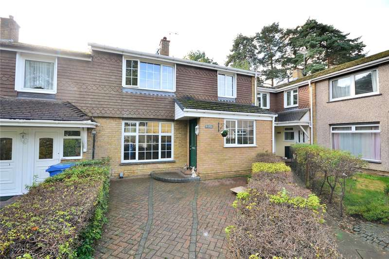 3 Bedrooms Terraced House for sale in Little Ringdale, Harmans Water, Bracknell, Berkshire, RG12