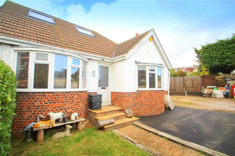 3 Bedrooms Semi Detached Bungalow for sale in Foxhunters Road, Portslade, Brighton, BN41