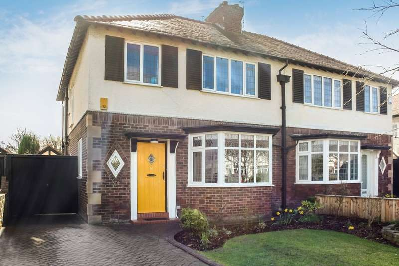 3 Bedrooms Semi Detached House for sale in Radnor Drive, Churchtown, Southport
