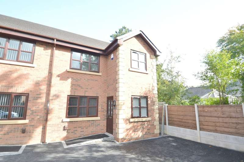 3 Bedrooms Semi Detached House for sale in Rosewood Gardens, Gatley