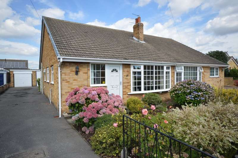 2 Bedrooms Semi Detached Bungalow for sale in Thornleigh Avenue, Thornes, Wakefield