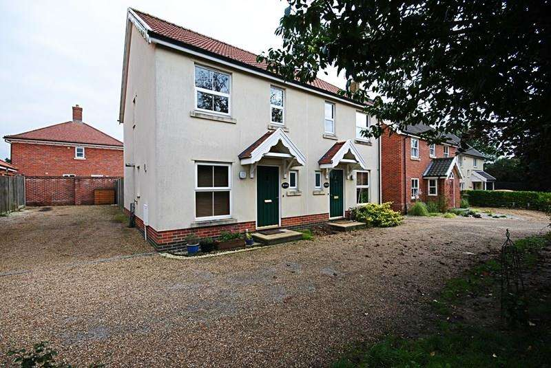 2 Bedrooms Semi Detached House for sale in Tabernacle Lane, Forncett St. Peter, Norwich