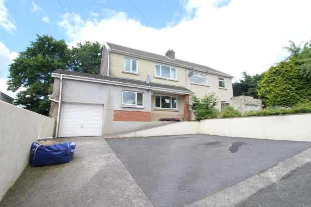 3 Bedrooms Semi Detached House for sale in Penlan Road, Carmarthen, Dyfed, SA31 1DN