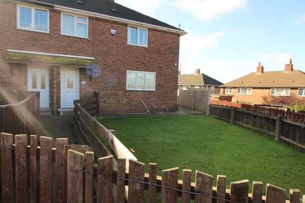 3 Bedrooms Semi Detached House for sale in Peveril Road, Bolsover, Chesterfield, S44 6RZ