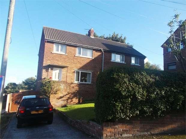 3 Bedrooms Semi Detached House for sale in Bron Haul, Bagillt, Flintshire